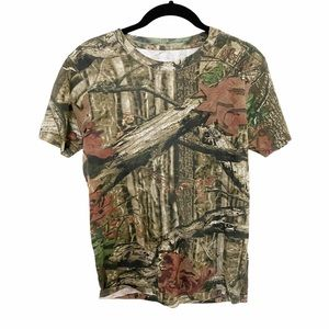 Camouflage Print Tee  Youth XL